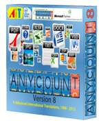 AnyCount - Word Count, Character Count and Line Count Software