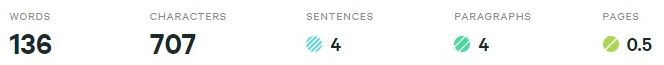 Count words in docx from wordcounterio