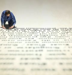 expansion of a long text