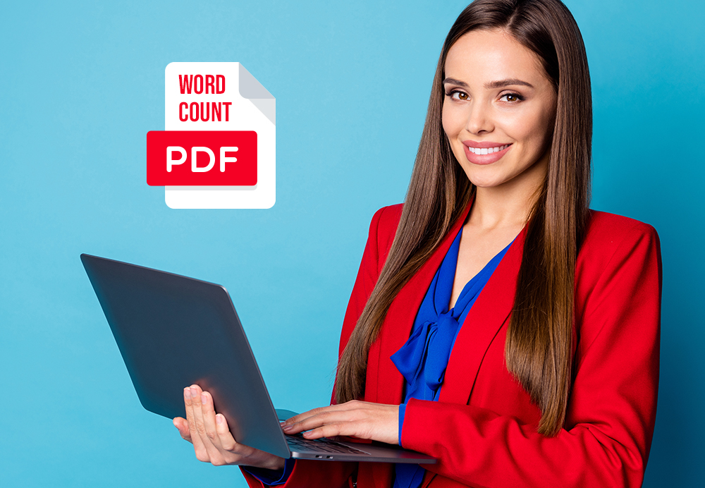 How to Count the Number of Words in your PDF file.