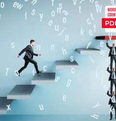 PDF word-count by using web
