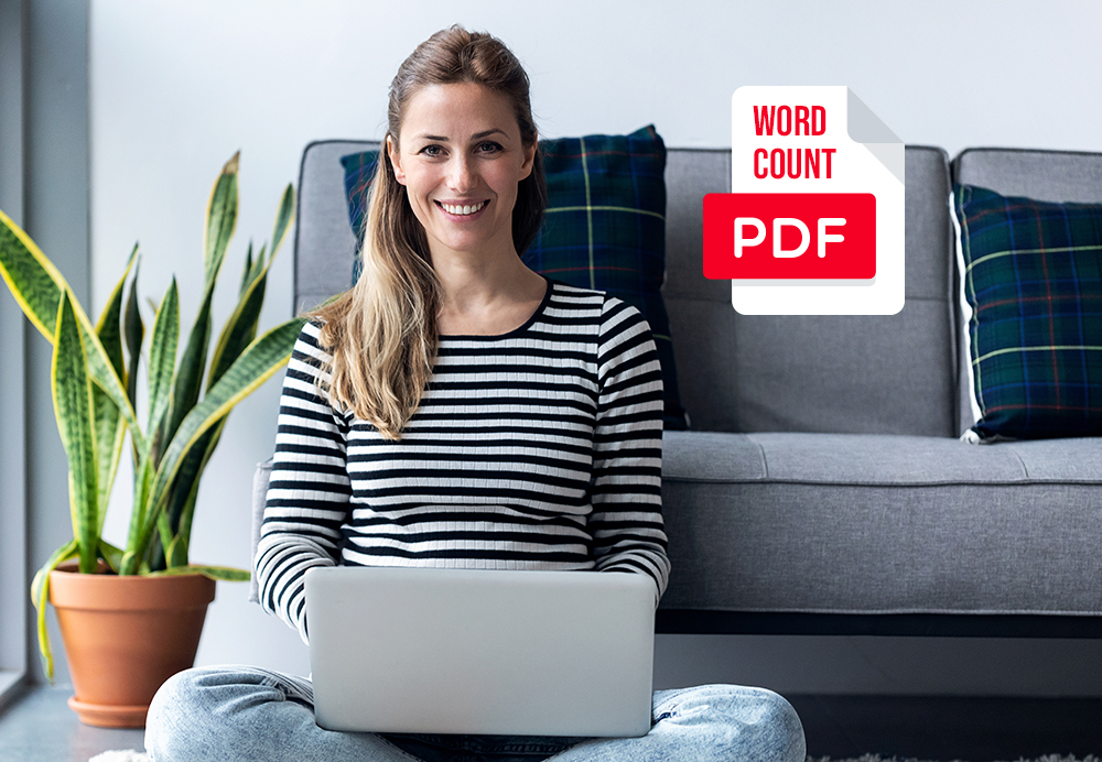 How to Count the Number of Words in your PDF files. The second method!