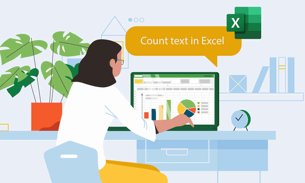 How to Count Text in Excel?