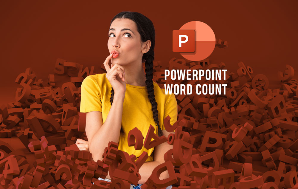 Word count in PowerPoint