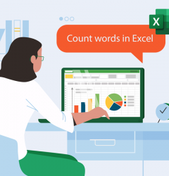 How to Count Words in Excel?