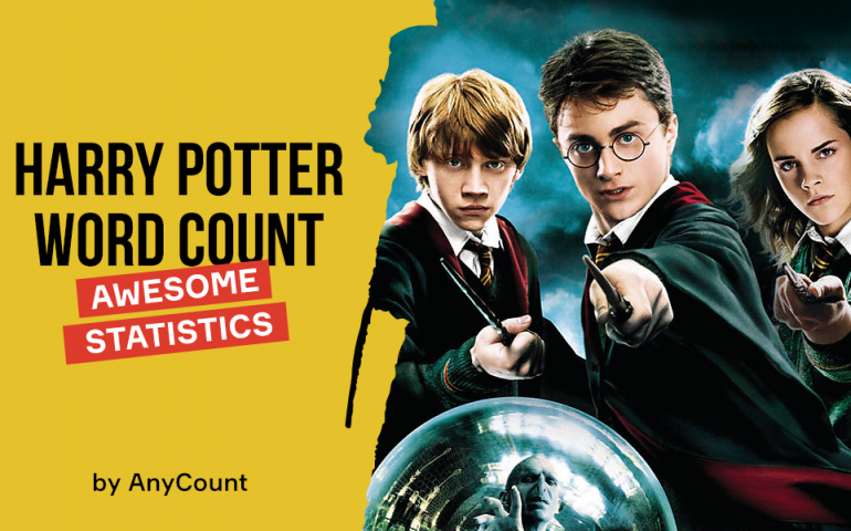 Harry Potter word count